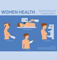 women health flat vector image vector image