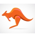 kangaroo - vector image