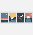 abstract landscape background set in modern