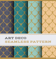 art deco seamless pattern 42 vector image vector image