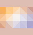 colorful polygonal which consist of triangles vector image vector image