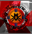 cyber security anti virus vector image vector image