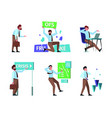 financial crises investment money recession vector image