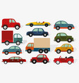 cars collection vector image