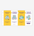 digital inclusion onboarding template vector image vector image