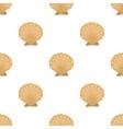 prehistoric seashell icon in cartoon style vector image vector image