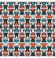 seamless abstract orange and blue print vector image vector image