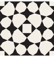 Seamless Black White Geometric Pattern vector image