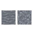 Texture for platformers pixel art - stone vector image vector image