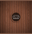 wood texture background design natural dark vector image vector image
