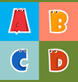 abcd cartoon alphabet