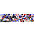 abstract background with dynamic contrasting waves vector image vector image