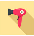 fashion dryer icon flat style vector image