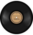 gramophone vinyl lp record old technology vector image vector image