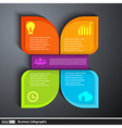 Modern design template infographics for business vector image vector image