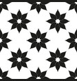 pattern monochrome ornament with abstract vector image vector image