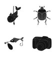 photography video ecology and other web icon in vector image vector image
