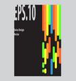 swiss design vector image vector image