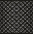 tile grey and black pattern for seamless vector image