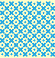 vintage geometric seamless pattern retro vector image