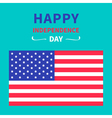 4th july happy independence day united states vector image