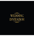 art deco gatsby wedding vector image vector image