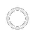 circle geometric ornaments ornamental round decor vector image vector image