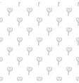 lollipop heart pattern seamless vector image