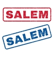 Salem Rubber Stamps vector image vector image