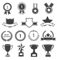 Set of Awards Prizes and Trophy Designs vector image vector image