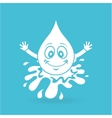 water character design vector image vector image