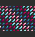 abstract pink and blue gradient color rounded vector image vector image