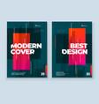 dark brochure design a4 cover template