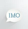 IMO vector image vector image