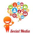 SocialMediaI vector image vector image