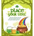 St Patrick's Day frame vector image vector image