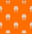 tutankhamen mask pattern seamless vector image vector image