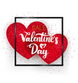 valentines day sale concept vector image vector image