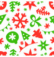 winter season holidays seamless pattern background vector image vector image