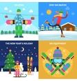Winter sport concept vector image