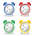 clock set color vector image