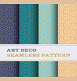 art deco seamless pattern 46 vector image vector image