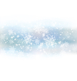background white snowflakes vector image vector image