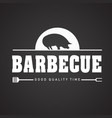 bbq barbecue good quality time image vector image vector image