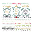 collection colorful hand drawn decorative vector image vector image