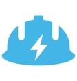 Electrician Helmet Eps Icon vector image