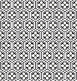 japanese pattern with flower vector image