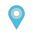line color location symbol to destination explore vector image vector image
