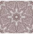 Seamless pattern in Indian style body painting vector image vector image