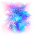 beautiful mystic galaxy cosmic background vector image